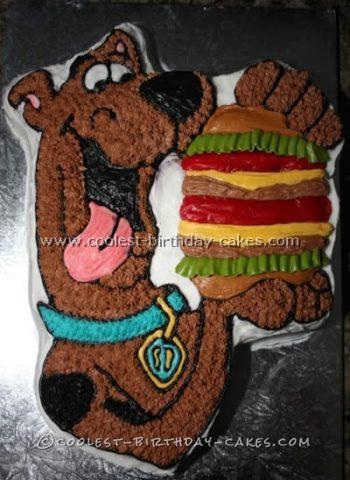 Coolest Scooby Doo Childrens Birthday Cake Recipe Ideas