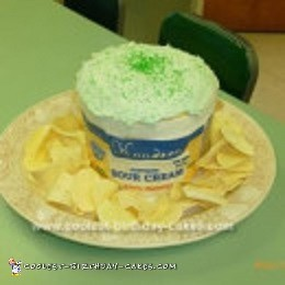 Pleasing Awesome Homemade Chips And Dip Cake For A Potluck Personalised Birthday Cards Veneteletsinfo