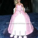 Coolest Barbie Cake