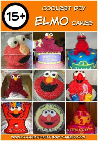 Cool 15 Coolest Elmo Cake Ideas Coolest Birthday Cakes Personalised Birthday Cards Veneteletsinfo
