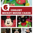 Mickey Mouse Picture Cakes