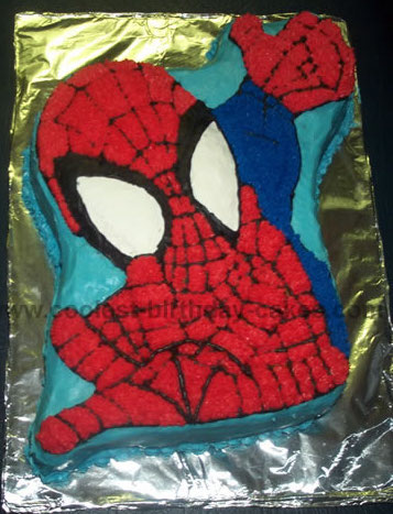 Miraculous 7 Cool Spider Man Cake Ideas And How To Tips Funny Birthday Cards Online Inifodamsfinfo