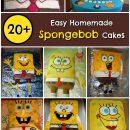 Spongebob Cake Collage