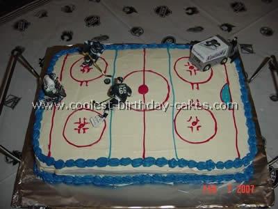 Stupendous Coolest Hockey Sports Cakes Funny Birthday Cards Online Benoljebrpdamsfinfo