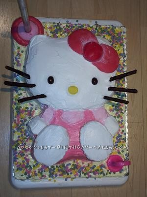 Coolest Hello Kitty 3rd Birthday Cake