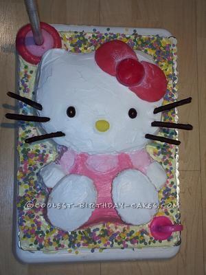 Coolest Hello Kitty 3rd Birthday Cake
