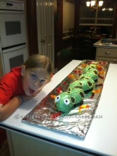 Coolest Anaconda Snake Cake