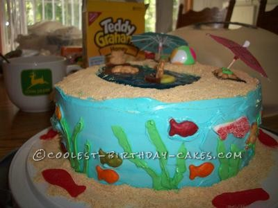 Coolest Beach Party Cake