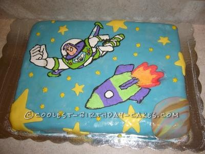 Coolest Buzz Lightyear Cake