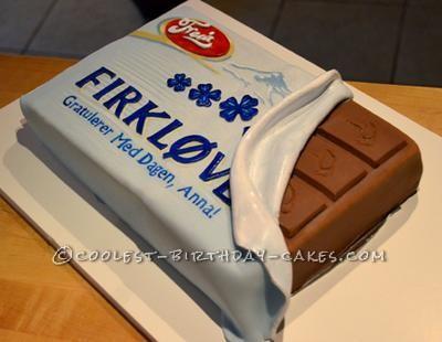 Coolest Chocolate Bar Cake