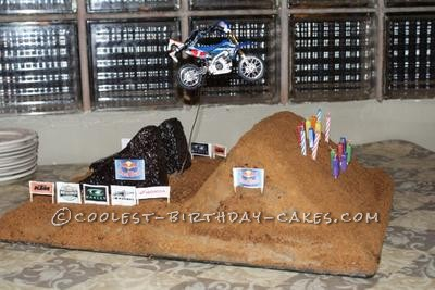Coolest Dirt Bike Cake