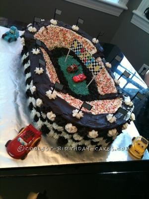 Coolest Disney Cars Birthday Cake