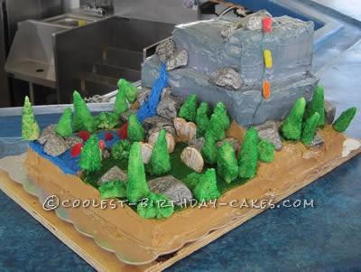 Coolest El Capitan Rock Climbing Cake