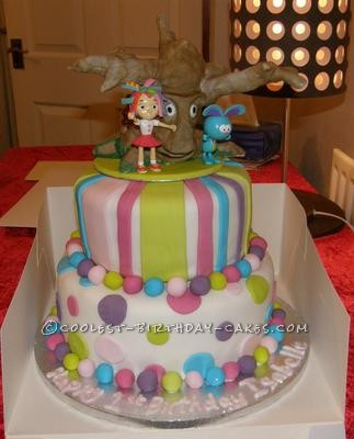 Coolest Everything s Rosie Birthday Cake