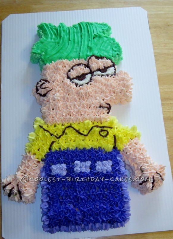 Coolest Ferb Birthday Cake