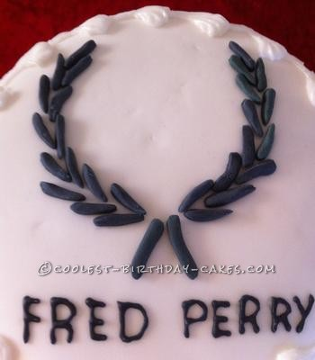 Coolest Fred Perry Logo Cake
