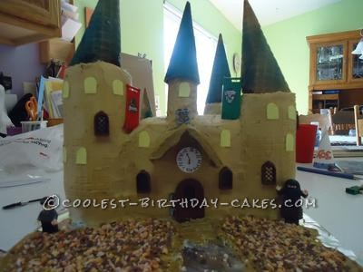 Coolest Harry Potter Hogwarts Castle Cake