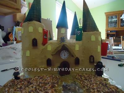 Coolest Harry Potter Hogwarts Castle Cake