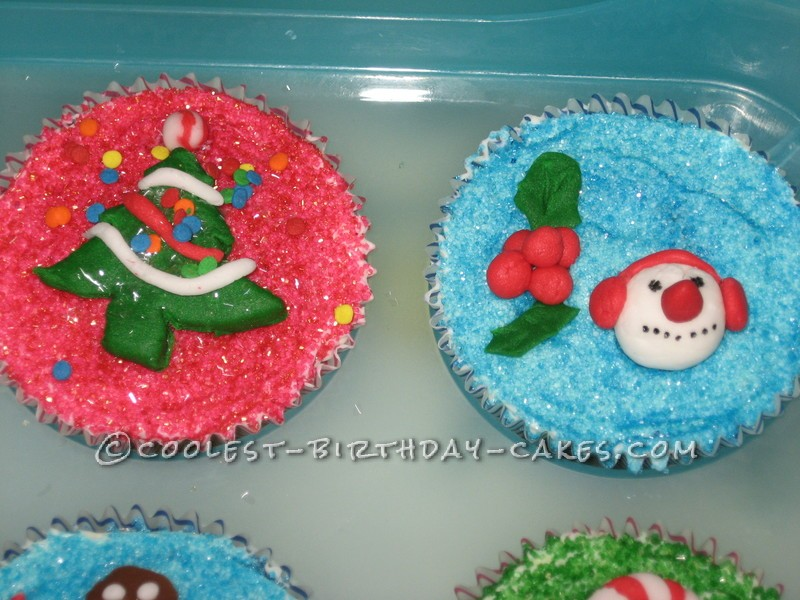 Coolest Christmas Cupcakes