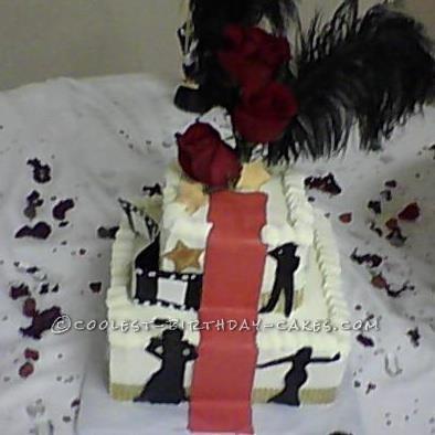 Last-Minute Hollywood Cake
