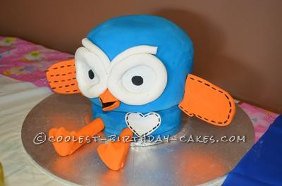 Coolest Hoot The Owl 1st Birthday Cake