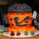 Coolest Lego Power Miners Cake