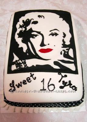 Coolest Marilyn Monroe Cake