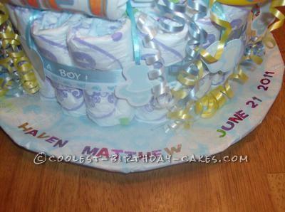Coolest Monkey Diaper Cake