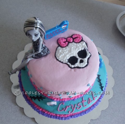 Coolest Monster High Birthday Cake