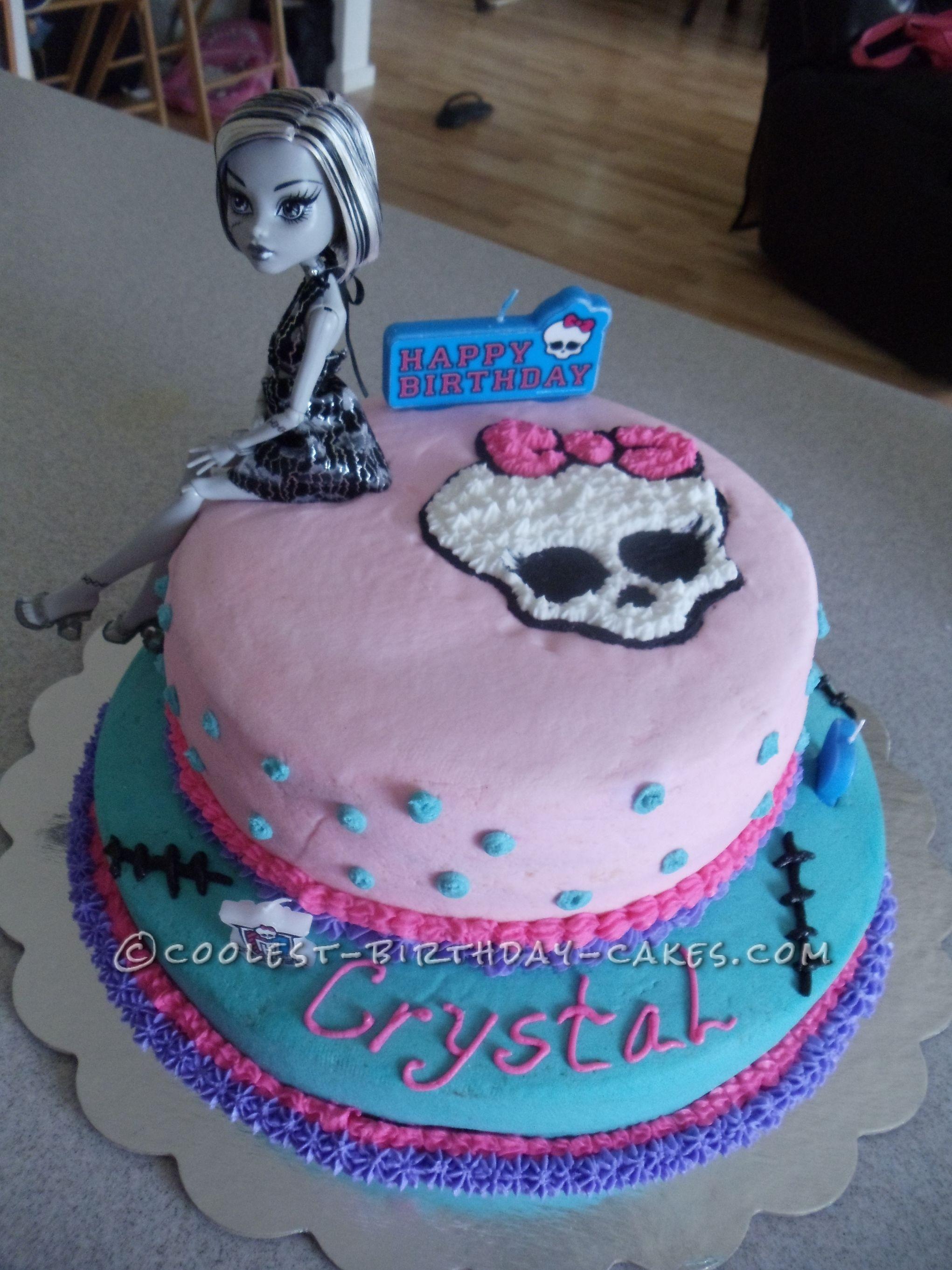 Coolest Monster High Birthday Cake