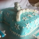 Coolest Number 1 with Teddy Bear Birthday Cake