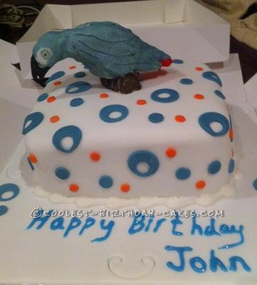 Coolest Parrot Cake