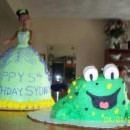 Coolest Princess and the Frog Cake