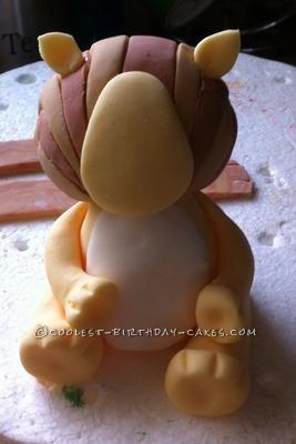 Coolest Raa Raa the Noisy Lion Birthday Cake