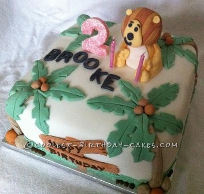 Coolest Raa Raa the Noisy Lion Birthday Cake