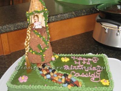 Coolest Rapunzel Birthday Cake