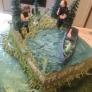 Coolest Swamp People Cake
