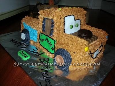 Coolest Tow Mater Cake