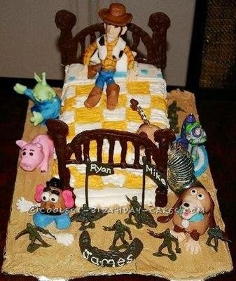 Coolest Toy Story Cake Ever