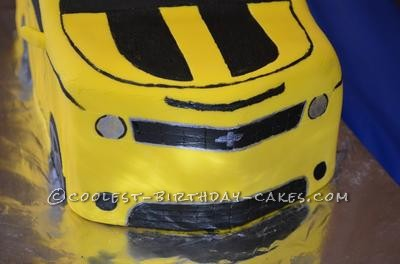 Coolest Transformers Bumblebee 5th Birthday Cake