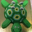 Coolest Turtle Birthday Cake
