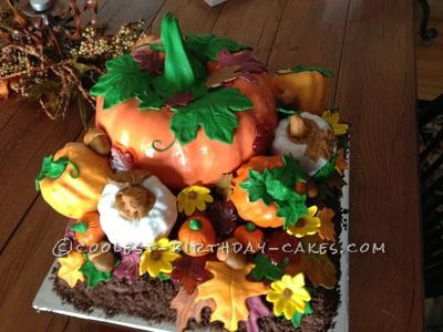 Fall Pumpkins Cake