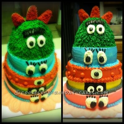 Coolest Yo Gabba Gabba Birthday Cake