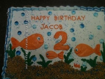 Cool Goldfish Cake