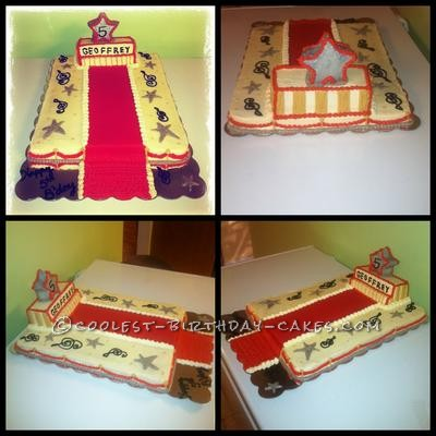 Red Carpet Superstar Cake