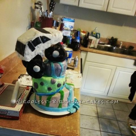 Awesome Rock Crawler Birthday Cake