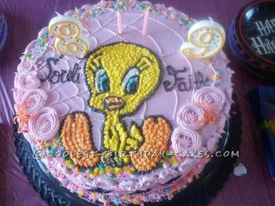 Coolest Tweety Halloween Cake