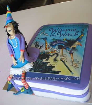 Original Winnie the Witch Birthday Cake