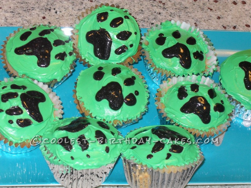 Wolf Cake for a Ten Year Old Girl