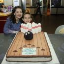 Cool 3D Bowling Birthday Cake